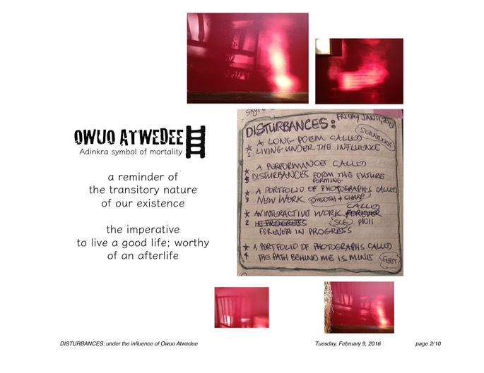 under the influence of Owuo Atwedee